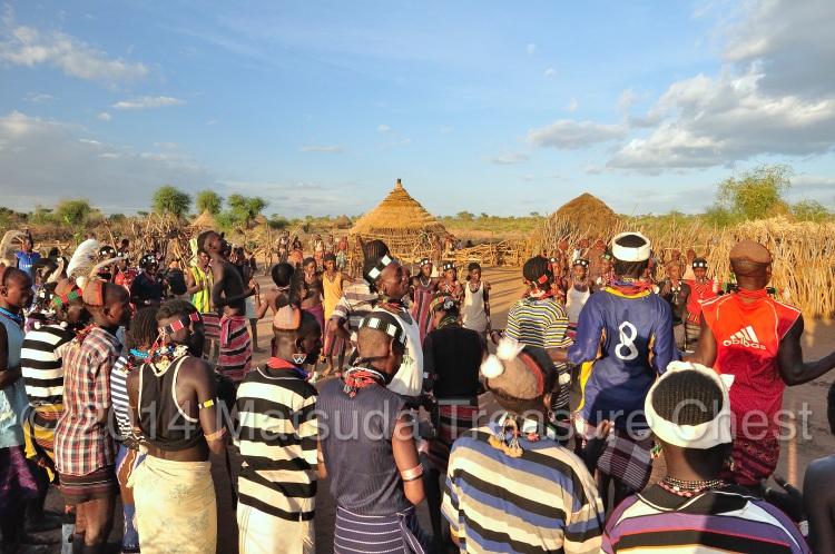 Wedding ceremony of Hamar people