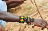 Noticed the color of the beads? It represents Ethiopian national flag