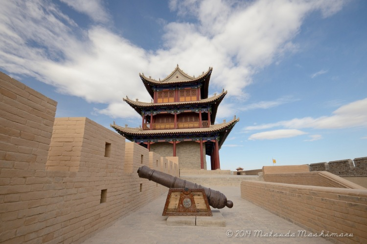 Jiayuguan Fortress at the Western most Point of the Great Wall of China
