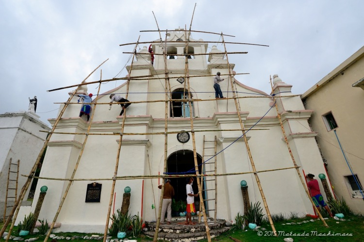 At 3:15 pm: San Vicente Ferrer Church (Sabtang)