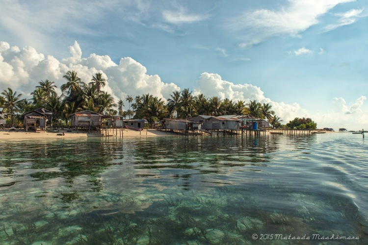 The other side of Maiga Island