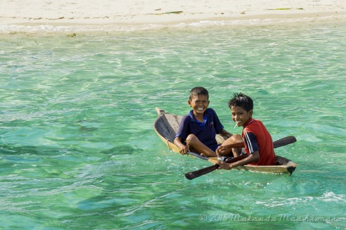 The boy with a lollipop is Azmal. My diplomatic little tour guide ... I paid him to guide me around the island