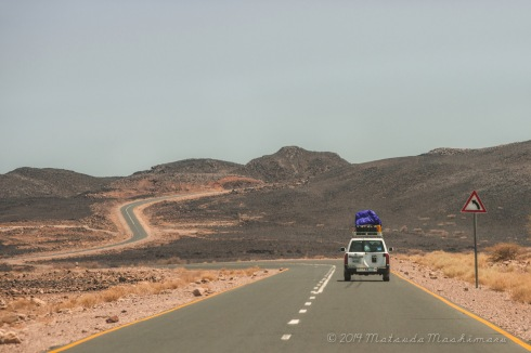 Entering Danakil Depression from Semera, capital of Afar state
