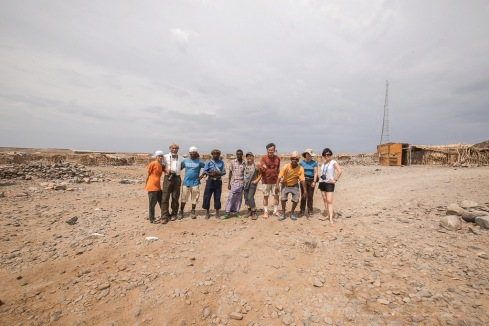 A group photo of us ... the Danakil Depression survivors. A truly depressing experience ... lol