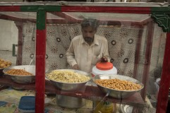 A food seller on the street