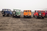 Moody looking jeep at Mt Bromo ... waiting for the rain to stop