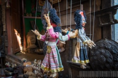 2-sided Papier Mache Doll of Nepal