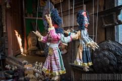 2-sided Papier Mache Doll of Nepal