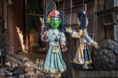 Papier Mache Doll of Nepal