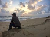 Sunrise at Batu Buruk beach, Kuala Terengganu, Terengganu