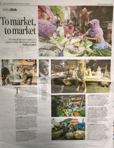 My article in 'NST bots click' for March 2017